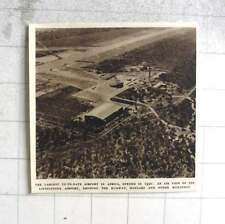 1953 Largest Modern Airport In Africa, Livingstone Airport Air View