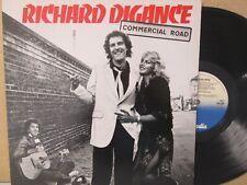 RICHARD DIGANCE- Commercial Road LP (1979 Vinyl NM) Folk Pop Novelty/Comedy