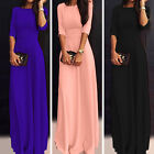 New Women Prom Chiffon Slim Fit Party Cocktail Evening Gown Long Maxi Dress 8-18