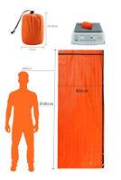 Reusable Emergency Sleeping Thermal Water/dustproof Survival Travel Bag new