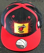 New Miami Heat UNK NBA Basketball Fitted Cap - Size 7 3/8 - Red