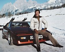 James Bond 007 Roger Moore Lotus Esprit Snow 10x8 Photo