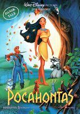 Pocahontas Danish Voices 1995 Vtg Danish Movie Press Release