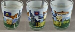Idaho Countryside ~ Attractions Shot Glass #5913