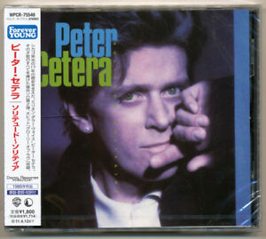 Peter Cetera - Solitude / Solitaire / Chicago / Japan CD / NEW! Out of print!