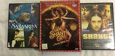 Om Shanti Om+Saawariya+Shakti the Power  (Lot of 3) DVD's #DVD-7