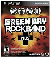 Green Day Rock Band Plus Ps3 Playstation 3 T Kids Game