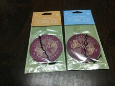 Lot Of 2 New Scentsy Circle Air Freshners Camu Camu And Coconut Cotton