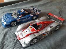 Maisto 1:18 Mercedes CLK-GTR Original-Teile & Infineon Audi R8 Lemans 2002, lot