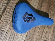 Collective Bikes Monogram Seat, Blue. Brand New.