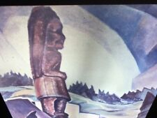 "Emily Carr ""British Columbia Indian Village"" Canadian Art 35mm Slide"