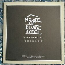 House of Blues Hotel Chicago Souvenir CD, New Condition, 2001