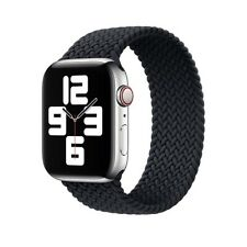 SEALED RAPID DISPATCH Charcoal Black Braided Solo Loop SIZE 5 Apple Watch 44mm