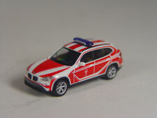 BMW X1 der KDOW Stadt Landshut . -  Herpa HO 1:87 Modell 093552  #E