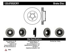 High Carbon Alloy Brake Disc fits 2002-2007 Jeep Liberty  CENTRIC PARTS