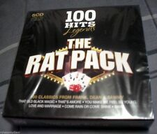 Rat Pack - 100 Hits Legends - 5 Cd Box Set - Brand New Factory Sealed