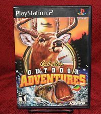 Cabela's Outdoor Adventures PS2 COMPLETE CIB Free Shipping Activision