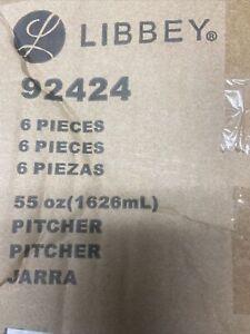 6X Libbey 92424 Infinium 55 Ounce Pitcher - 6 / CS
