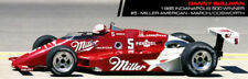 #5 Danny Sullivan Miller Indy Car Penske 1985 1/24th - 1/25th Scale Decals