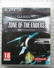 ZONE OF THE ENDERS HD COLLECTION PS3 PLAYSTATION 3 UK NUOVO