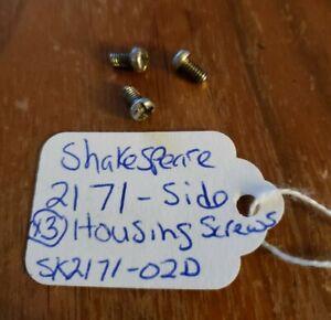 Vintage Shakespeare 2171 Fishing Reel Part - Side Plate Screws - USED SK2171-02D