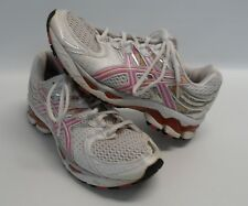Womens ASICS Gel-Kayano 16 Pink Gray T050N Running Athletic Shoes Size 7.5