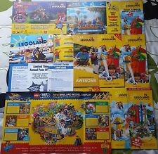 Legoland Ephemera Collection 17 Great Items Pre Opening Guide, Maps & Much More