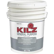5 Gal Kilz General Purpose White Water-Base Interior Paint Primer 57000