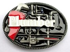 Herramientas de fontanero 3d Hebilla de cinturón