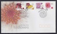 "2005 FDC. Australia. Australian Wildflowers. P&S. PictFDI ""BOTANY"""