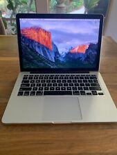 "Apple MacBook Pro Retina 13"" Laptop late 2012 8gb"