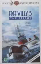 FREE WILLY 3 - THE RESCUE - VHS