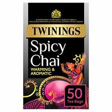 Twinings Spicy Chai 50 Bags (Pack of 4)