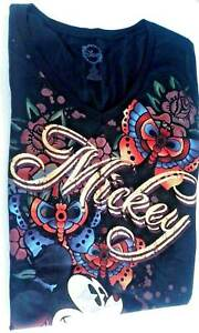 women's mickey disney sleep top shirt juniors large 12/14 nwot