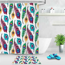 Precious Feather Waterproof Bath Polyester Shower Curtain Liner Water Resistant
