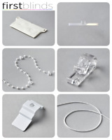 Vertical Blind Spare Parts - 89mm & 127mm - Weights, Chains, Brackets & More...