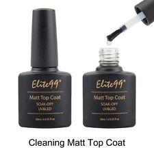 Elite99 Matte UV LED Gel Polish Varnish Sealer Soak Off Top Coat Coat Nail Art