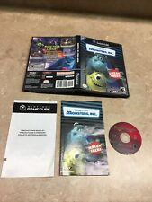 ** Monsters, Inc.: Scream Arena (Nintendo GameCube, 2002) ** 100% Complete