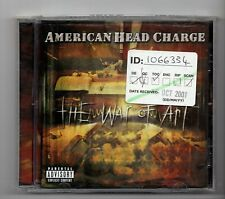 (JN927) American Head Charge, The War Of Art - 2001 unopened CD