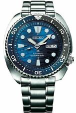 Seiko Srpd21 Prospex Save The Ocean White Shark Blue Automatic Diver Watch 200M