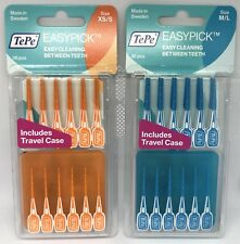 TePe EasyPick Blue & Orange 36's - Tooth Picks x 1 Pack Of Each
