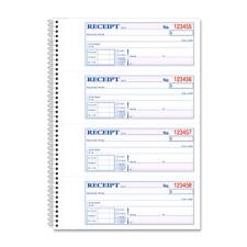 Money Rental Receipt Book Record Cash Check Payments Carbonless 200 Counts .