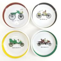 4pc set VINTAGE Collect MOTOR WAGON Classics ANTIQUE Ford CARS PLATE Dish Lot