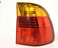 Phare Arrière DX Externe LED Orange-Rouge Pour 5 E39 2000 Au 2003 Sw