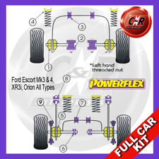 Ford Escort XR3i (80-03/85) Powerflex Complete Bush Kit
