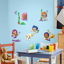 BUBBLE GUPPIES wall stickers 43 decals Deema Gil Oona Puppy Grouper Bubbletucky