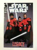 STAR WARS: LEGACY #6 (2006) | COMIC PACK VARIANT #32; ADAM HUGHES; DARK HORSE