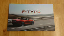 2012 Jaguar F-Type Brochure inc. V8 S
