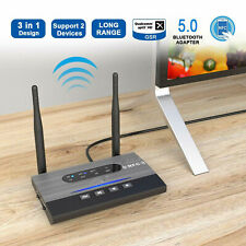 NFC Bluetooth 5.0 Receiver Transmitter HiFi Audio Adapte Recharger 3 In 1 Remote