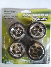 Ansmann Racing - Set Gomme Mini (4pz) 1 10 On Road cerchio cromato